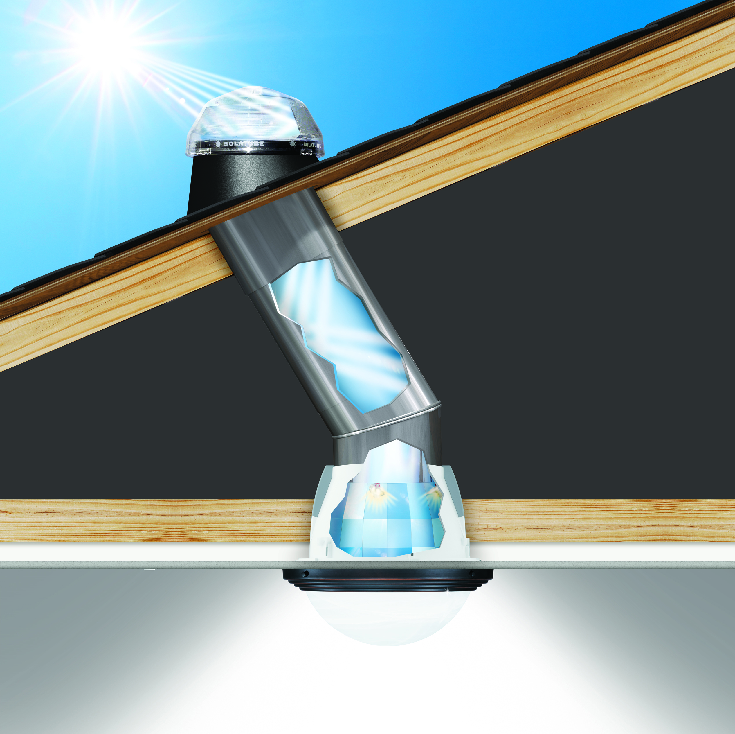 solatube introduces the new solatube smart led system On puit de lumiere led